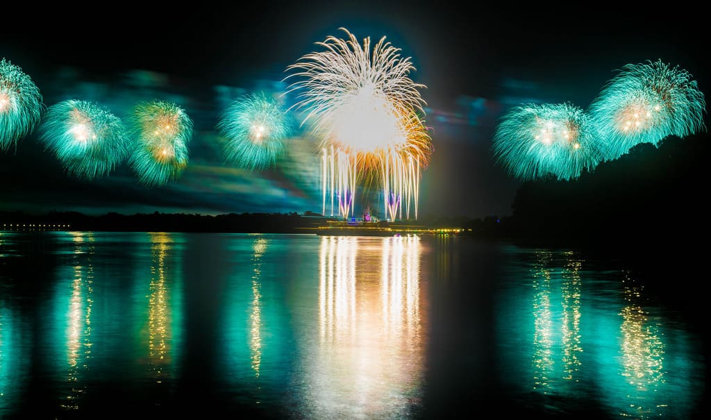 Fireworks from the Ferry: Fireworks Viewing Locations