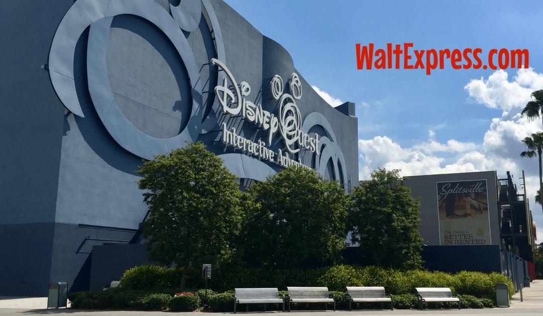 Breaking News: DisneyQuest Closing July 3, 2017 in Disney Springs