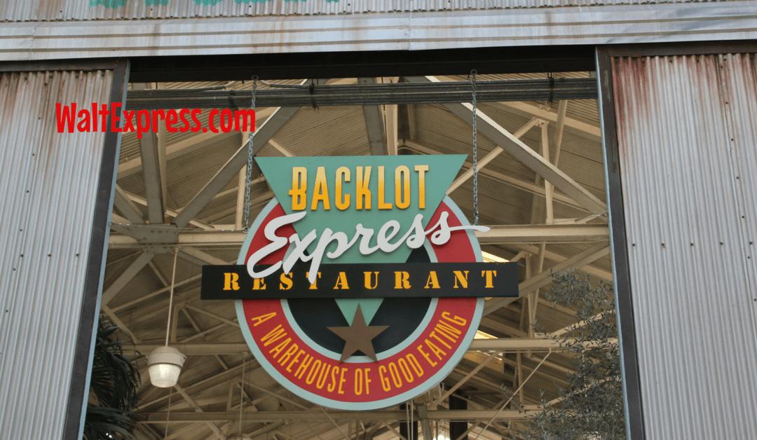 Backlot Express: A Disney World Quick Service Dining Review