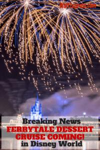 Just Released: Ferrytale Fireworks, A Sparkling Dessert Cruise Returns