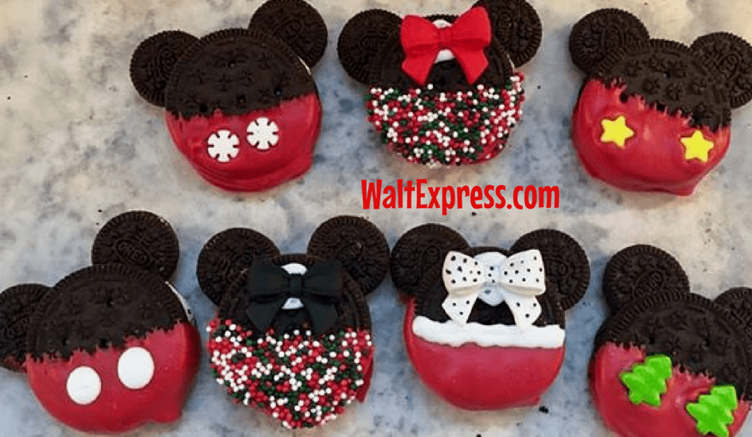 Allergy Friendly Disney Inspired No Bake Christmas Cookies