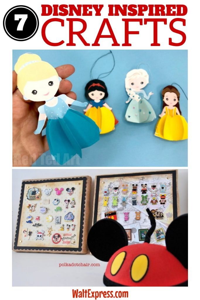 7 Disney Inspired Crafts Worth Doing