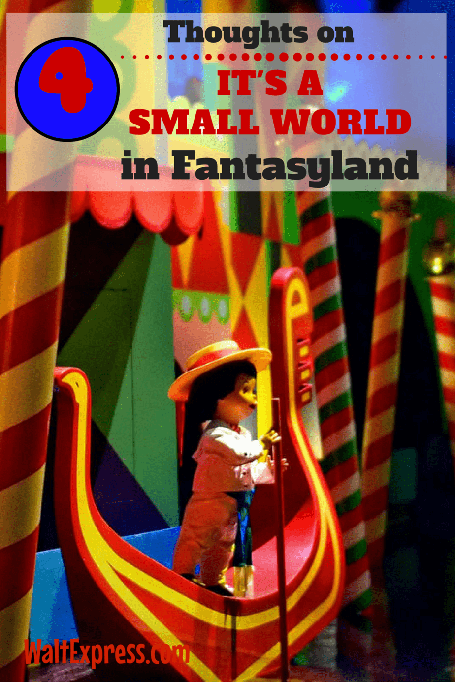 4 Thoughts On It's a Small World in Fantasyland