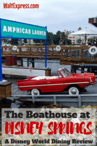 The Boathouse at Disney Springs: A Disney World Dining Review