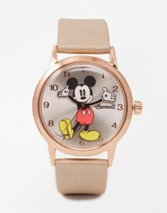Mickey Mouse Gold Watch