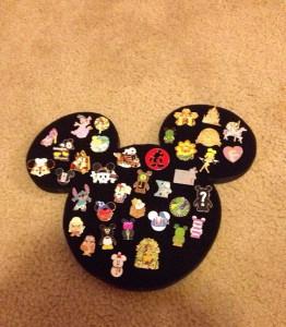 Mickey Mouse Pin Display