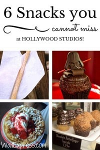 6 Snacks You Cannot Miss at Hollywood Studios!