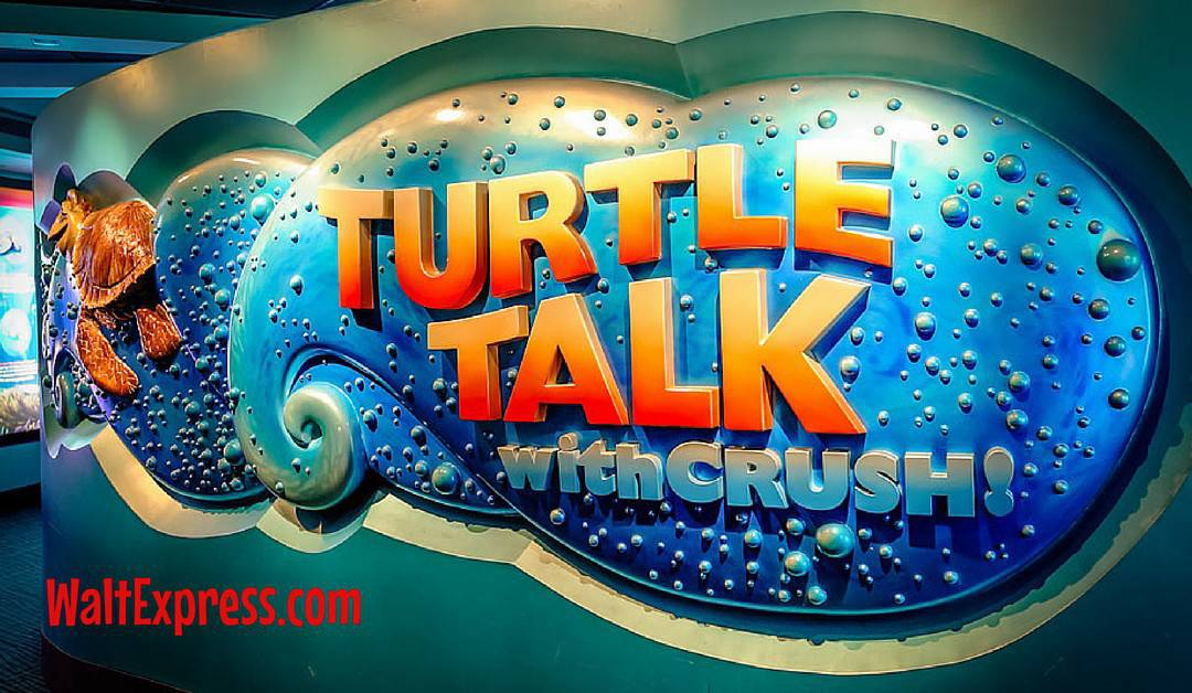 Video: Turtle Talk With Crush at Disney World Review