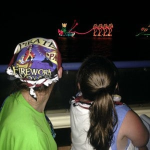 Pirates & Pals Fireworks Voyage: Disney World Fireworks Viewing Locations