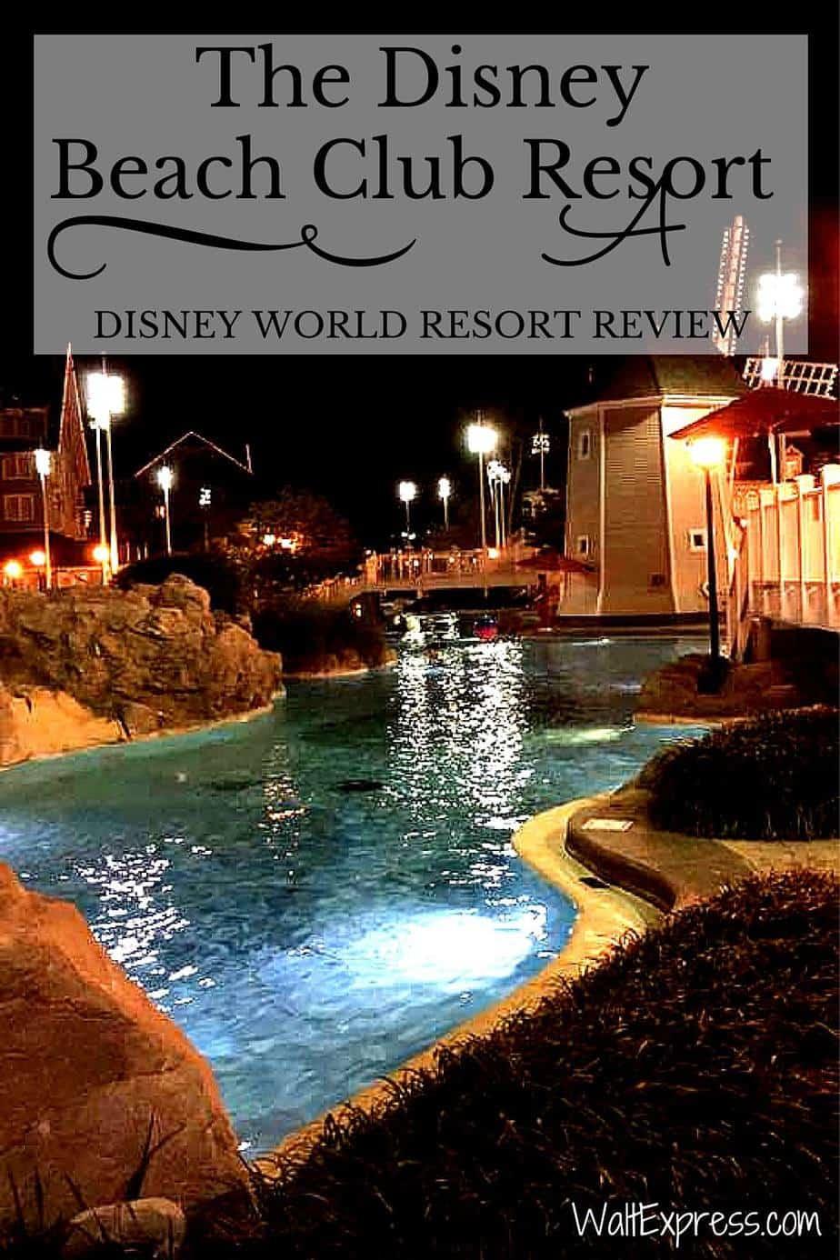 Disney's Beach Club Resort: A Disney World Resort