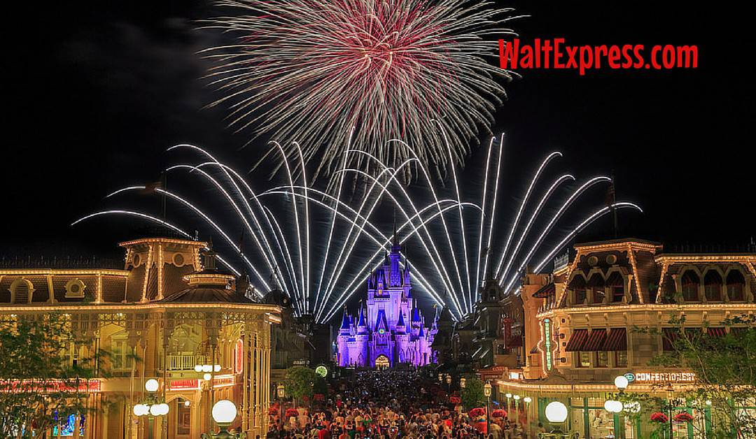 Video: Main Street, U.S.A. Disney World Fireworks Viewing Locations