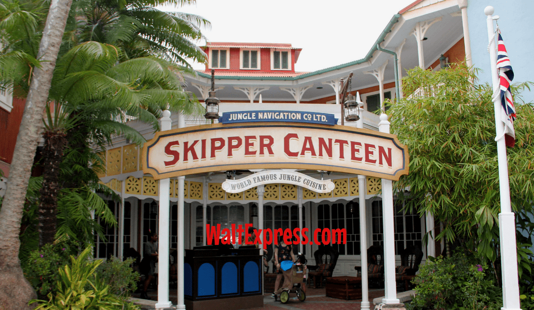 Jungle Skipper Canteen: A Disney World Dining Review