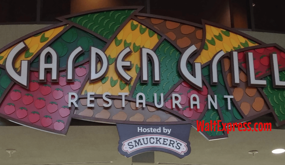 Garden Grill: A Disney World Dining Review