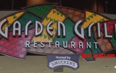 Garden Grill: A Disney World Dining Review