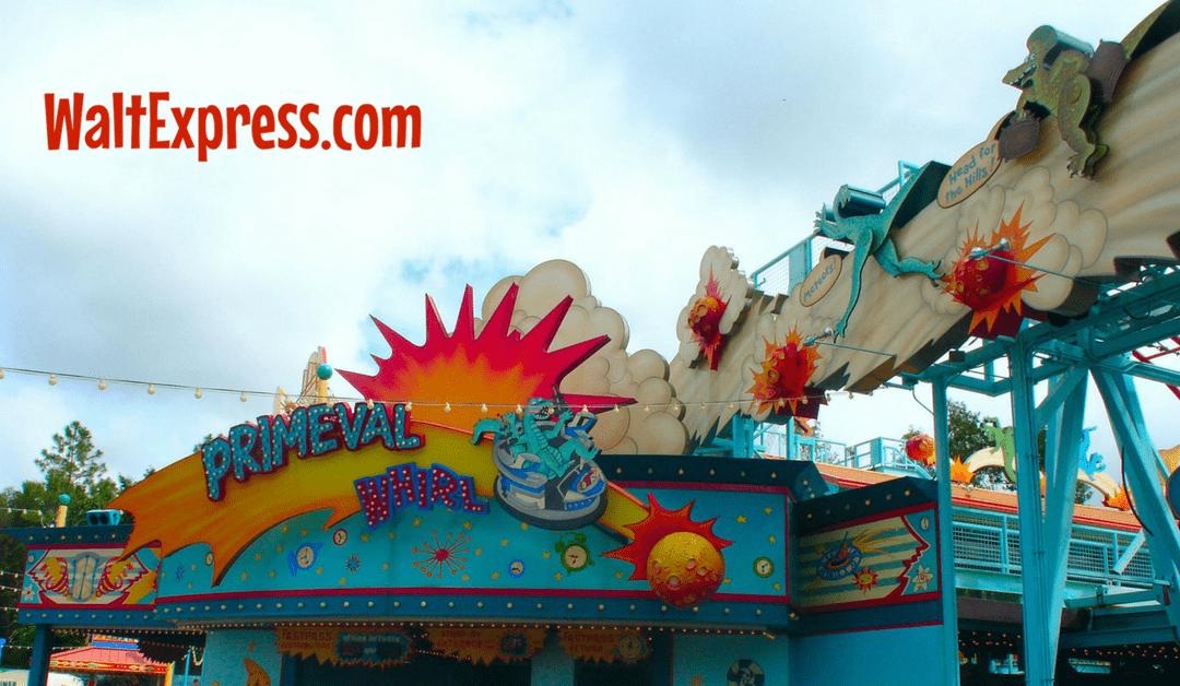 Video: Primeval Whirl at Animal Kingdom a Disney World Review