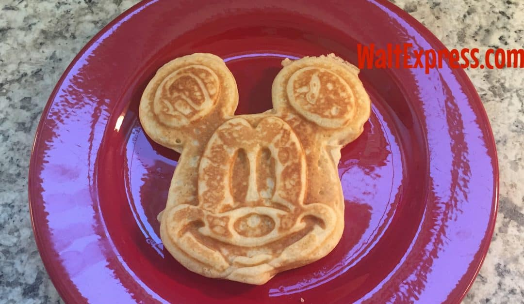 Disney World Copycat Recipes: Mickey Waffles
