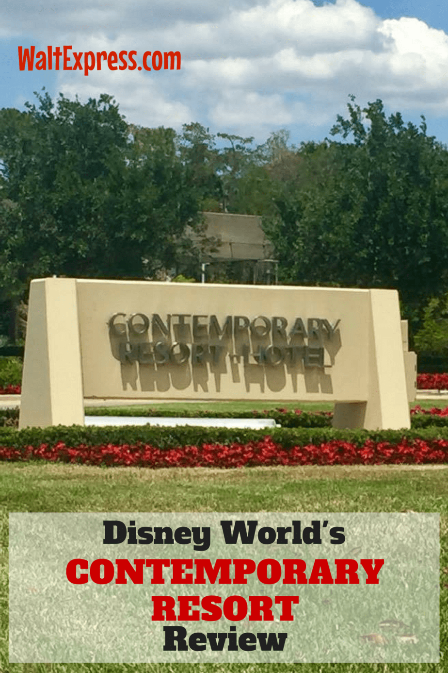 Disney's Contemporary Resort: A Disney World Resort Review