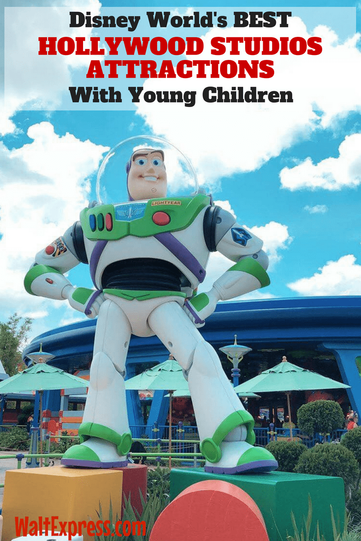 Disney's Hollywood Studios Attractions With Young Children
