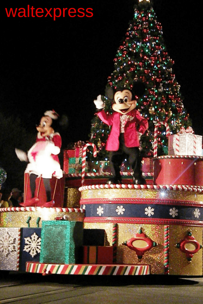 Video: Mickey's Once Upon a Christmastime Parade at Mickey's Very Merry Christmas Party