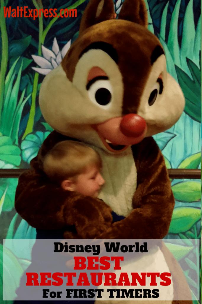 Best Restaurants For 1st Timers At Disney World