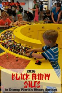 2016 Black Friday Sales in Disney World's Disney Springs