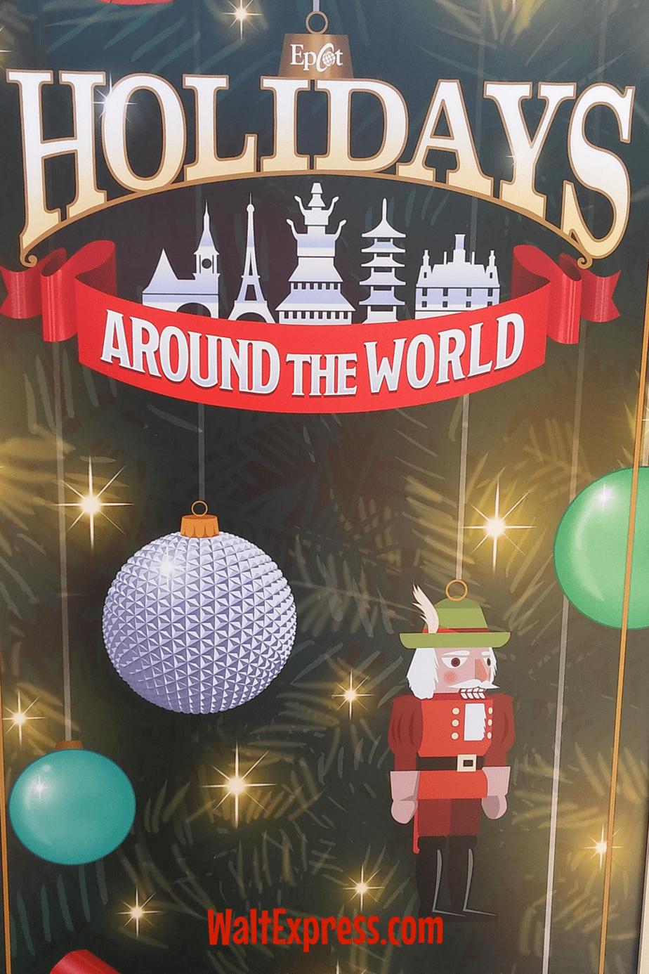 epcot holidays around the world limited edition merchandise - Holidays Around Christmas
