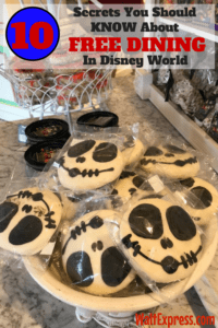 10 Secrets You Should Know About FREE DINING in Disney World