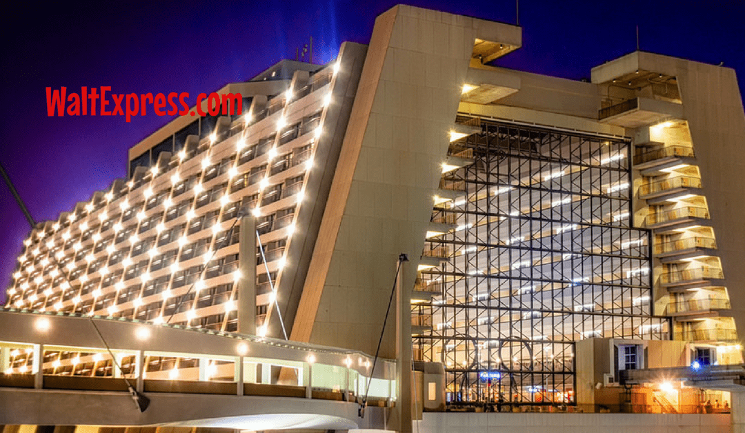 Just Announced: New Dining Package at Disney's Contemporary Resort