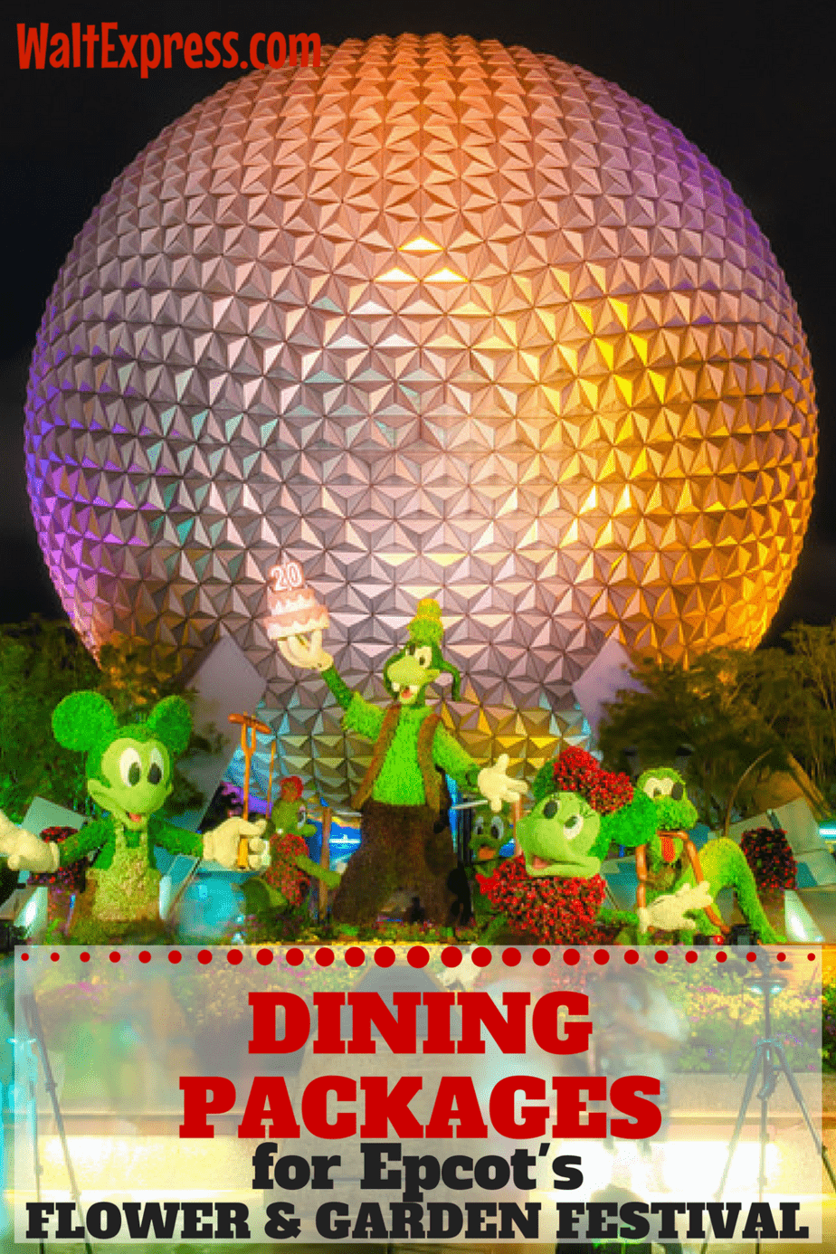 Just Released Dining Packages For Epcot 39 S Flower And Garden Festival