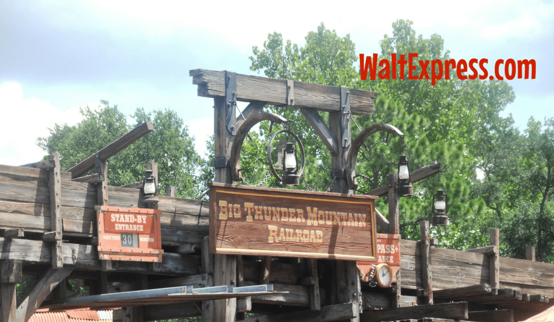Video: Big Thunder Mountain Railroad a Disney World Review