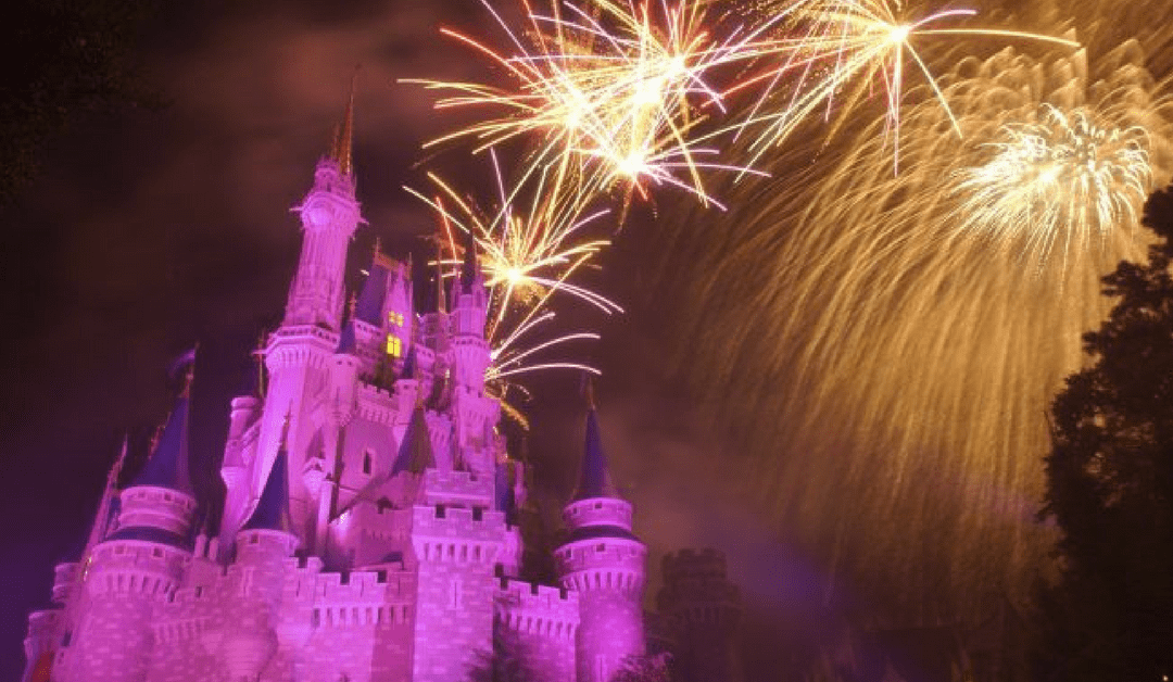 DisneyParksLIVE: Live Stream of Magic Kingdom's 'Wishes' on March 23