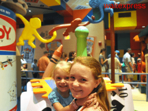 Video From Toy Story Midway Mania At Hollywood Studios