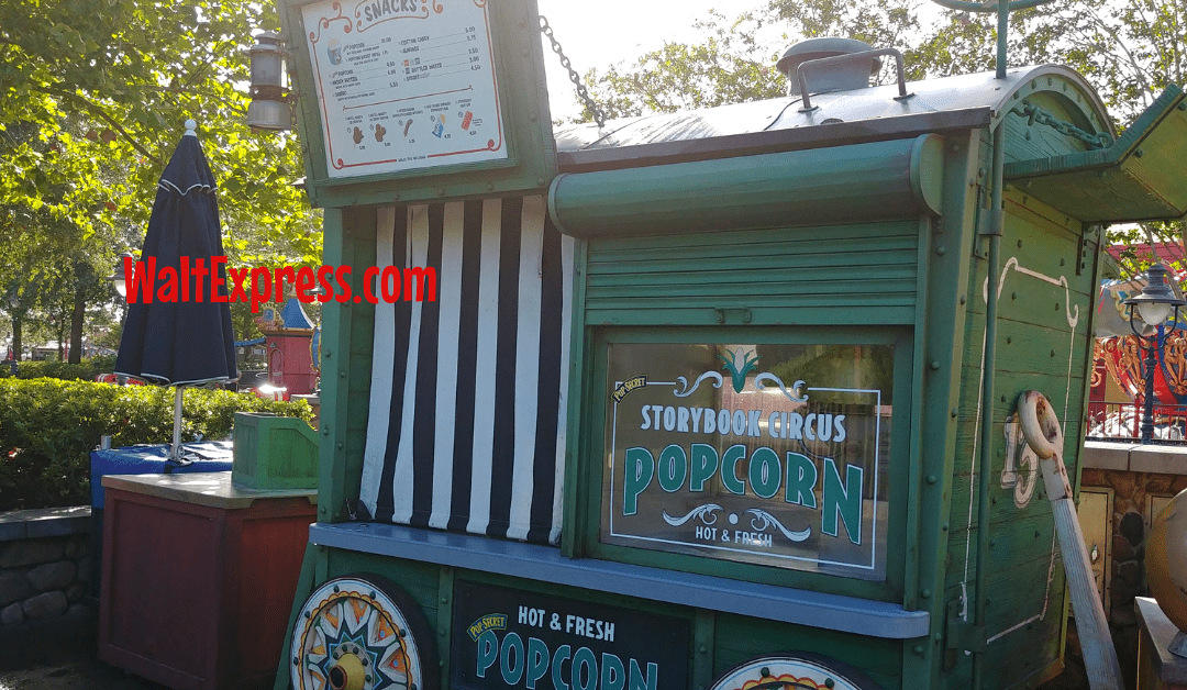 Cheap Eats And Souvenirs At Disney World Parks: POPCORN