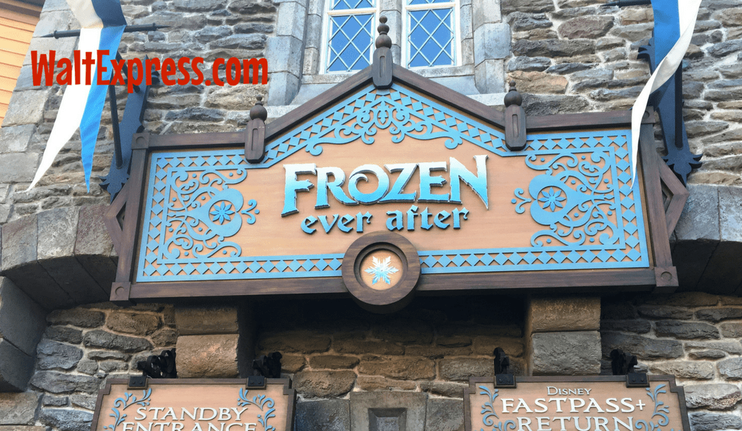 Video From Frozen Ever After At Epcot: A Disney World Review