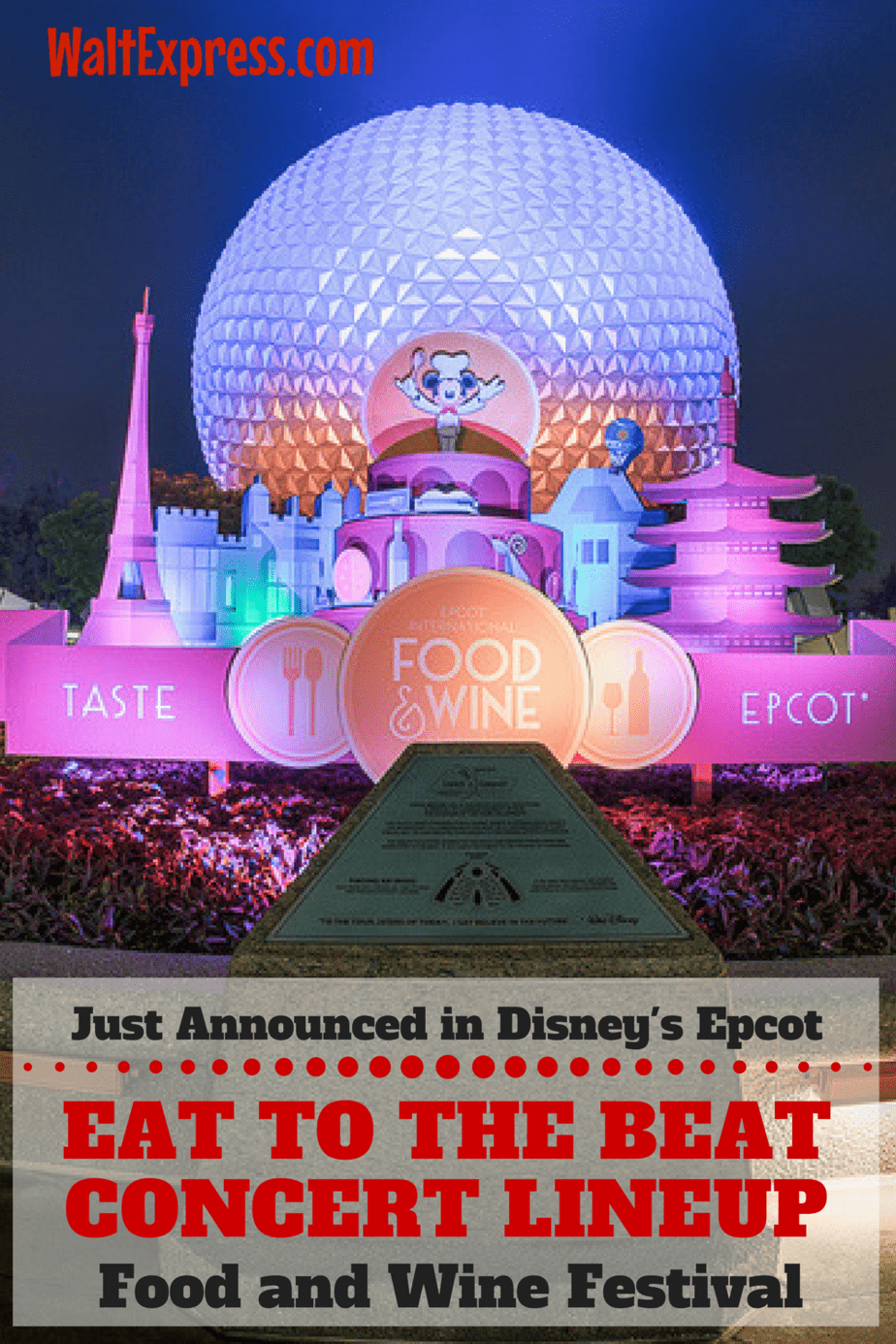Just Released: Concert Lineup for Epcot's Eat To The Beat Concert Series