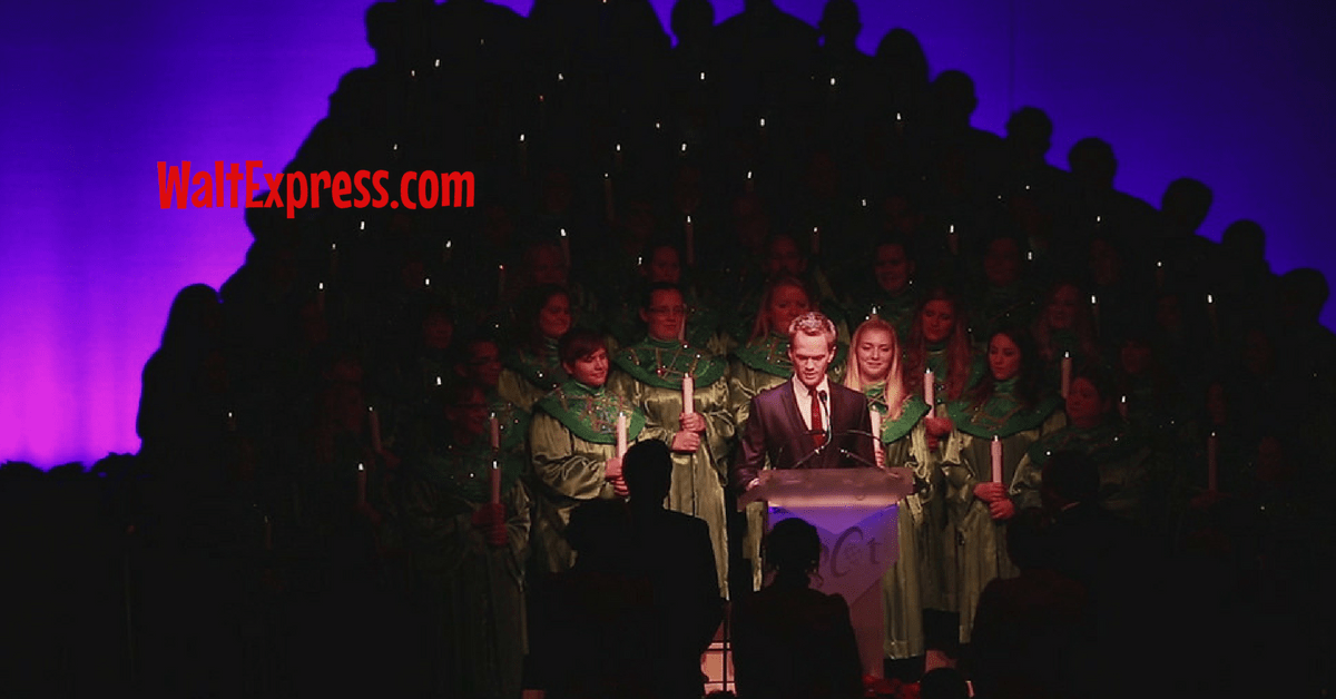 Best dining option for candlelight processional package