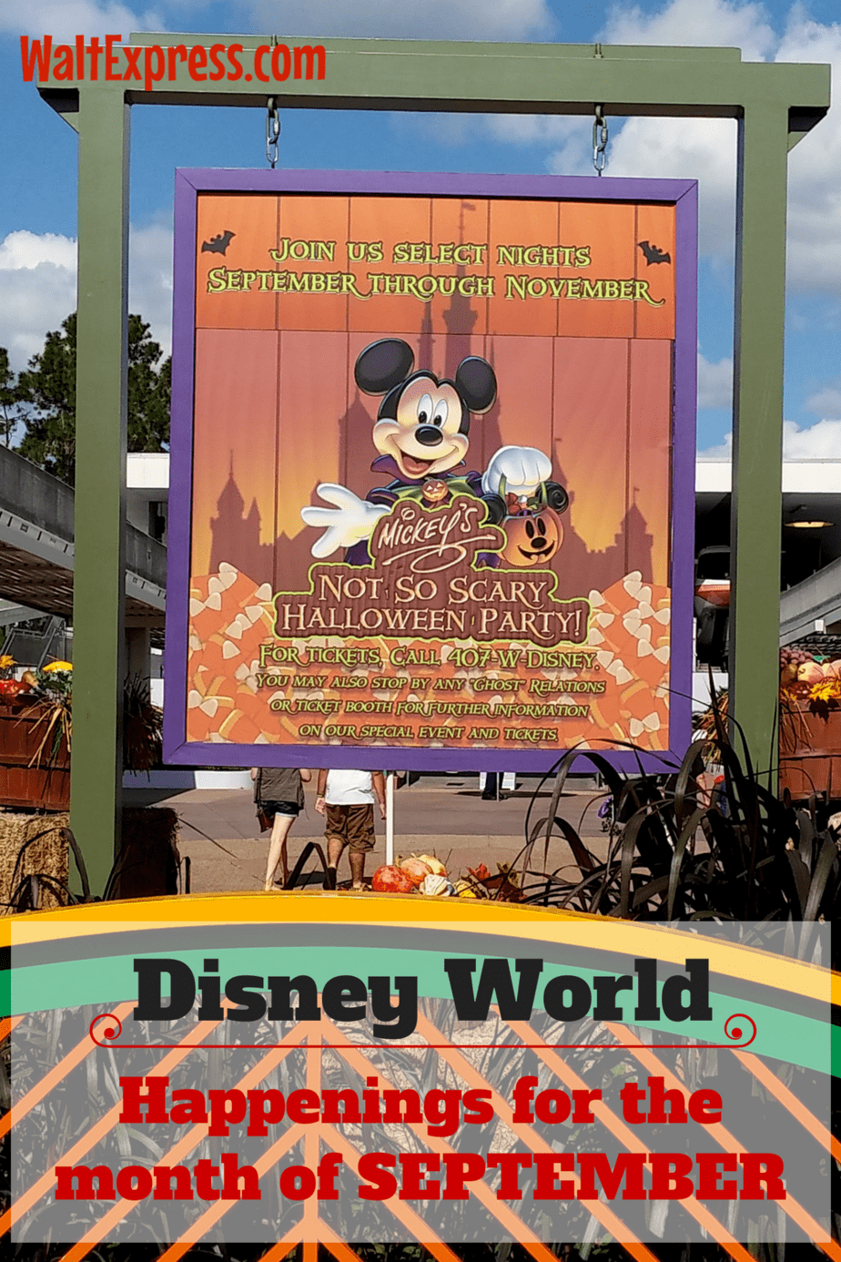 What To Expect In Disney World During The Month Of September