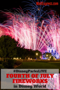 #DisneyParksLIVE To Live Stream Fourth of July Fireworks From Magic Kingdom