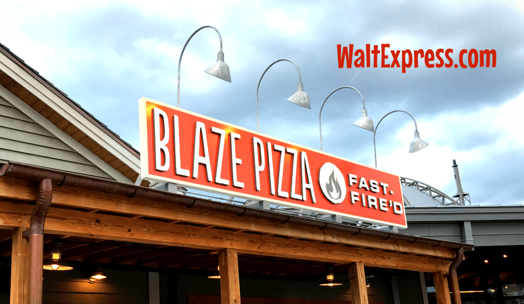 Blaze Pizza: A Disney World Quick Service Dining Review