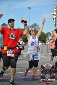 First runDisney Run: Star Wars Dark Side Interview