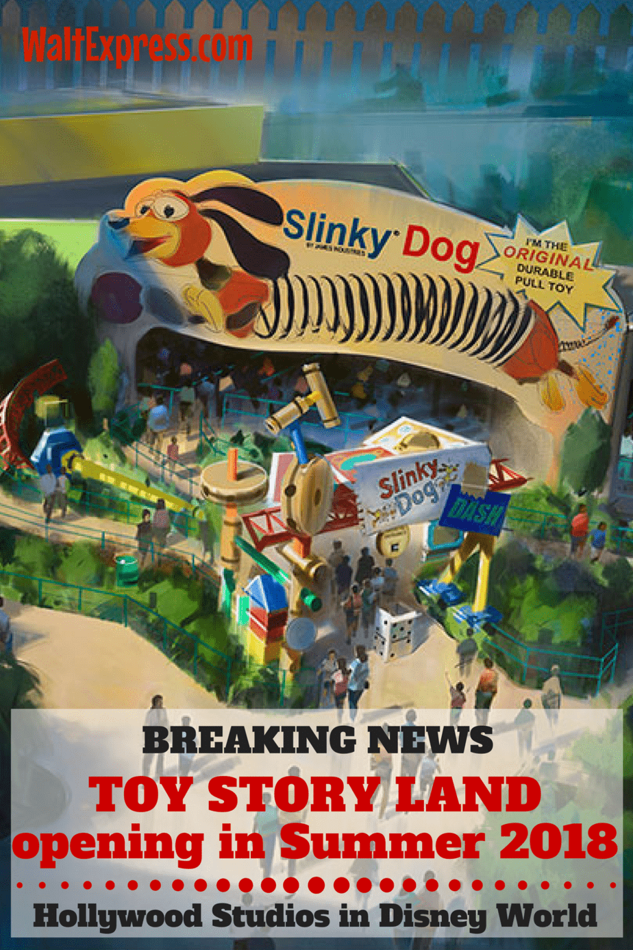 Breaking News Toy Story Land Will Open In Disney World