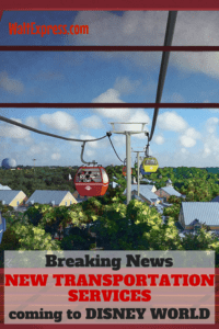 Breaking News: New Transportation Systems Coming To Disney World