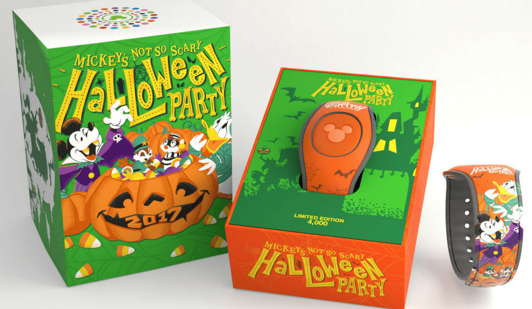 Just Released: Merchandise for 2017 Mickey's Not So Scary Halloween Party