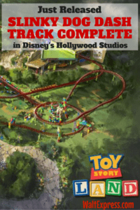 Hollywood Studios: Slinky Dog Track Completed in Toy Story Land
