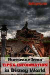 Hurricane Irma Tips and Information for Disney World