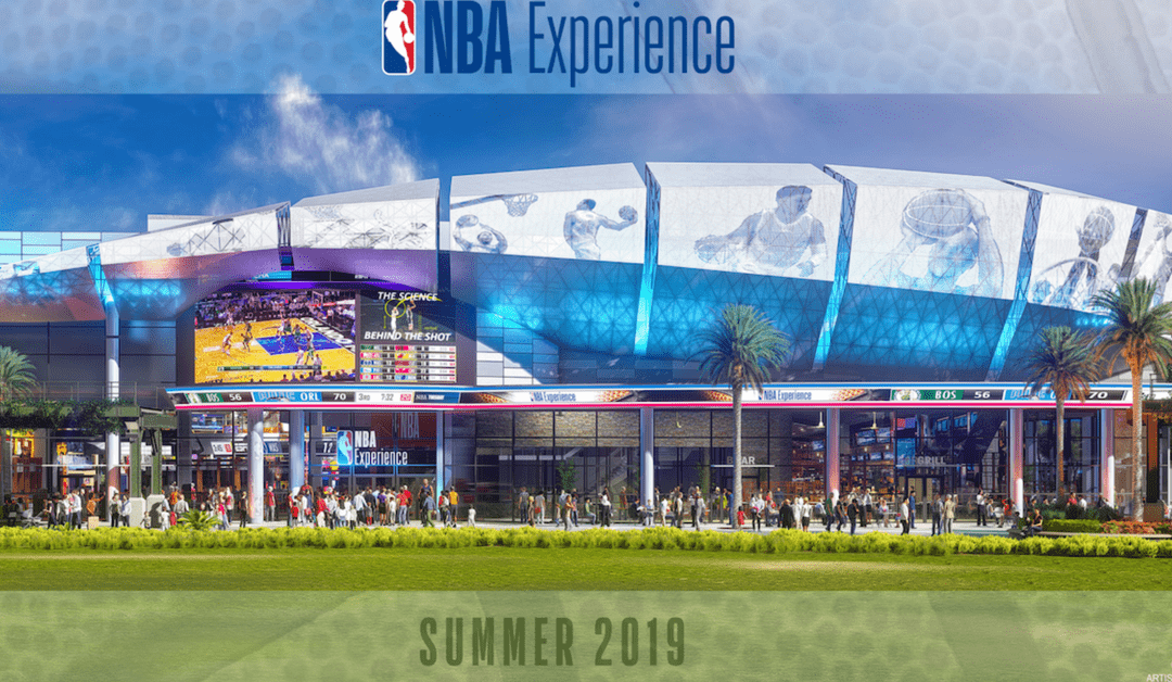 Just Released: NBA Experience Coming To Disney Springs In Summer 2019