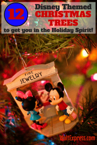 12 Disney Themed Christmas Trees to get You in the Holiday Spirit!