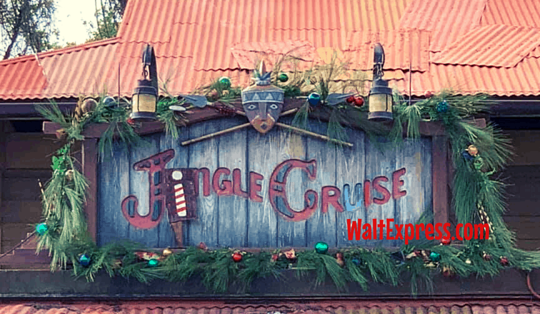 You MUST Do The Jingle Cruise During The Holidays At Magic Kingdom