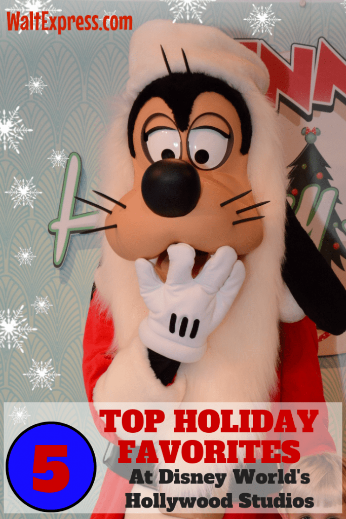 Top 5 Favorites At Disney World's Hollywood Studios During The Holidays