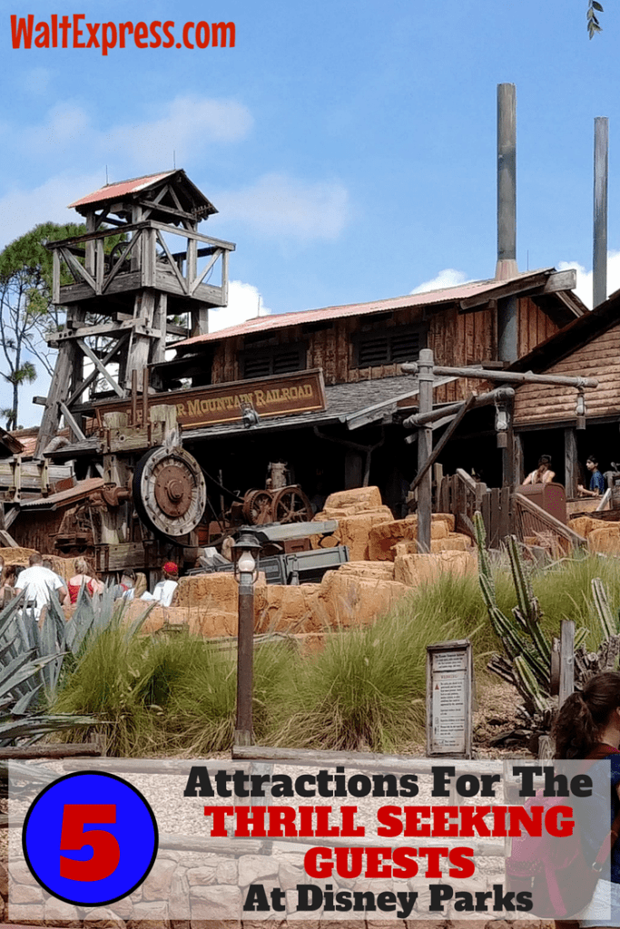 5 Attractions At Disney World Parks For The Thrill Seeking Guest
